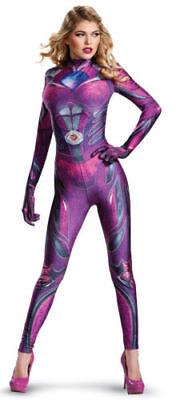 Pink Ranger Adult Costume (Saban's Power Rangers PINK RANGER Adult Halloween Costume Women's Size L)