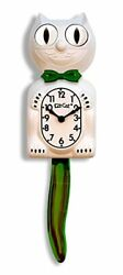 Limited Edition Candy Cane Green Kit-Cat Klock