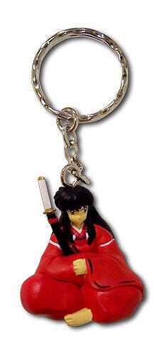**Legit** Inuyasha Authentic Anime PVC 3D Keychain Inuyasha Human Form #3367