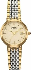 Rotary Women's Two-tone Quartz Bracelet Watch.