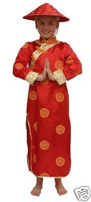 Kinderkostüm Geisha Chinesin Größe 116 Geisha Chinesinnenkostüm (Geisha Kostüm Kind)