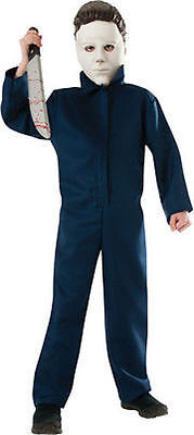 Child Michael Myers Halloween Scary Horror Fear Haunted Cosplay Costume - Scary Kid Costume