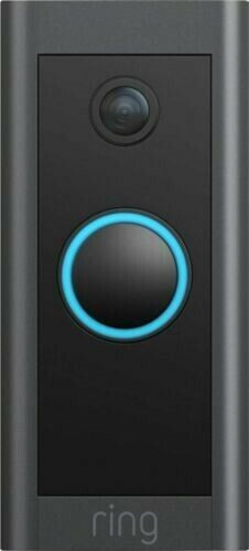 Ring - Wi-Fi Video Doorbell - Wired - Black