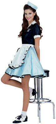 50s Favorites Car Hop Girl Womens - Car Hop Costume