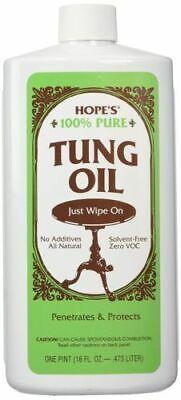 Hope Company 100% Pure Tung Oil 16 oz