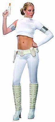 Geheim Wünsche Star Wars Padme Amidala Prinzessin Erwachsene - Padme Kostüm Weiß