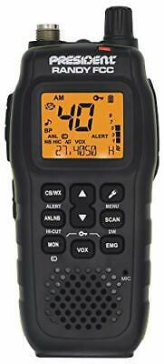 President Electronics RANDY Handheld Or Mobile Cb Radio
