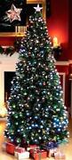 Fibre Optic Christmas Tree Star