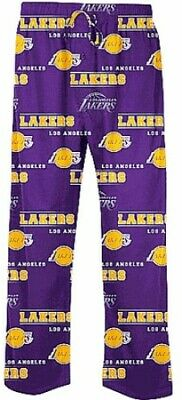 Los Angeles Lakers Purple Fusion Mens Pajama Pants by Concepts Sports
