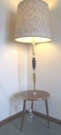 VINTAGE 1960'S/70'S DANSETTE KITSCH FLOOR STANDING TABLE LAMP