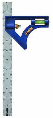 IRWIN Tools Combination Square, ABS-Body 12-Inch (1794470)