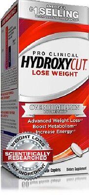 MuscleTech HYDROXYCUT PRO CLINIQUES 100 capsules