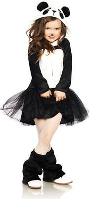 Leg Avenue Pretty Panda Bear Plush Fluffy Child Girls Halloween Costume - Panda Bear Halloween Costume