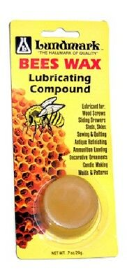 (6) pkgs Lundmark 9105W.7 .7 oz All Natural Bees Wax Lubricating Compound