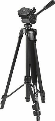 "NEW Sunpak PlatinumPlus 5858D 58"" Camera Camcorder Tripod Black Platinum Plus"