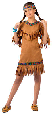 Native American Princess Girls Indian Costume (Native Girl Costume)