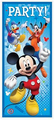 etter BIRTHDAY party wall or door poster Disney decoration (Mickey Birthday Party Dekorationen)