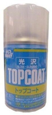 Mr. Hobby Mr. Top Coat Spray Gloss 88ml B501 Model Kit Paint Can