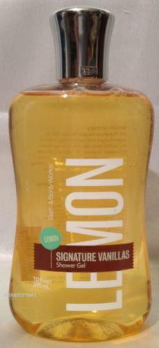 Bath And Body Works Lemon Vanilla Ebay