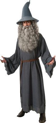 Mens The Hobbit Gandalf Movie Costume sz Standard 42-46