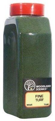 Woodland Scenics 1346 Turf Fine Weeds 32 oz Shaker - NIB