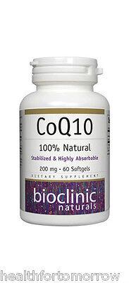 Bioclinic Naturals CoQ10 200 mg 60 gels  ()