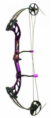 NEW PSE Stinger X Stiletto Purple Compound Bow Ladies Girls RH Right Hand 40#