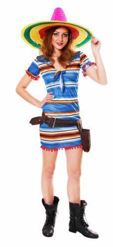 Womens Mexican Fancy Dress  978c5fe2ce8b
