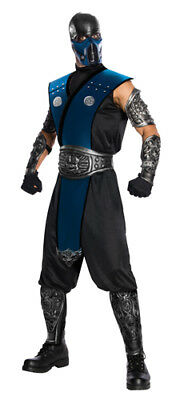 Mortal Kombat Sub-Zero Ninja Costume Size Standard
