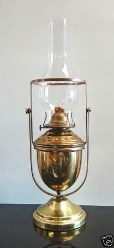 Nautical Oil Lamp Ebay