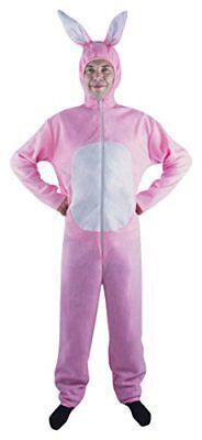 P' tit Clown–10280–Costume adulto coniglio rosa–Taglia (z3h)