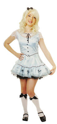 Alice in Wonderland Sky Blue Girls Halloween Costume - Halloween Girls In Costumes