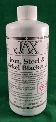 Jax Black Blackener Patina for Iron, Steel & Nickel - 16 oz.