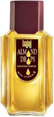 Bajaj Almond Drops Hair Oil Enriched Vitamin E Non Sticky Grow Fast Hair 200ml