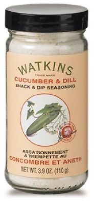 Watkins Cucumber Dill Snack & Dip Seasoning 3.9 oz