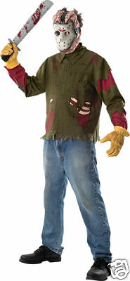 LICENSED JASON VOORHEES FRIDAY THE 13TH ADULT HALLOWEEN COSTUME X-LARGE 15806  - Jason X Halloween Costume