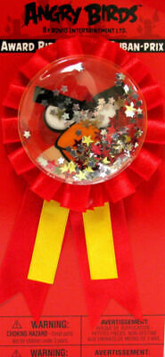 Angry Birds Award Ribbon Birthday Party Favors - Angry Bird Party Favors