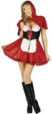 FANCY DRESS RED RIDING HOOD HALLOWEEN WOLF FITS SIZES 6 TO 18 BY CLASSIFIED