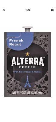 Flavia/Alterra FRENCH ROAST Coffee A184 Case Box of 100 Packs/Pods 5 Rails DARK