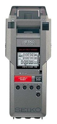 Seiko system stopwatch SVAS007 1/100 seconds 10 hours printer included watch