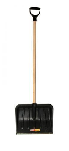 Snow Shovel/Scoop/Pusher with Metal Blade 1.17m - FREE POSTAGE