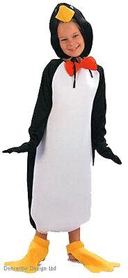 Kinder Pinguin Kostüm Madagaskar Vogel Tier Zoo Jungen Mädchen Outfit Neu - Madagaskar Kostüm Kinder