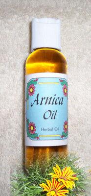 Arnica Oil   2 Oz   For Sore Muscles  Sprains  Strains  Arthritis  Bruises