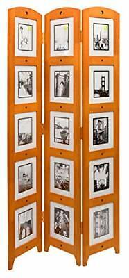 Kieragrace Kg Providence Large Triple Panel Room Divider Collage Picture Frames