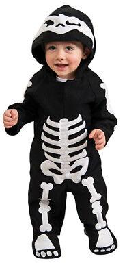 Infant Skeleton Gothic Baby Halloween Costume (Zombie Baby Halloween Costume)