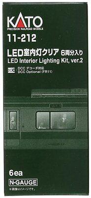 Model_kits Kato 11212 N Passenger Car Light Kit White LED 6 FREE SHIP SB