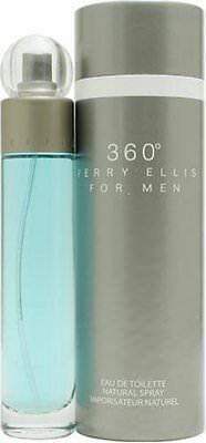 360 By Perry Ellis 3 4 Oz Edt Cologne For Men New In Box