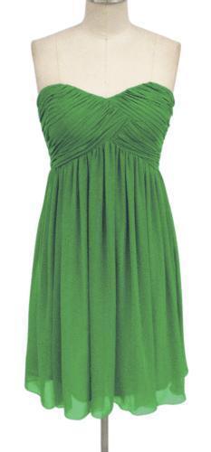 Apple green bridesmaid dress ebay for Apple green dress for wedding