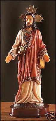 SACRED HEART of JESUS / SACRADO CORAZON DE JESUS 8 inch  Statue NIB Catholic  8' Sacred Heart Statue