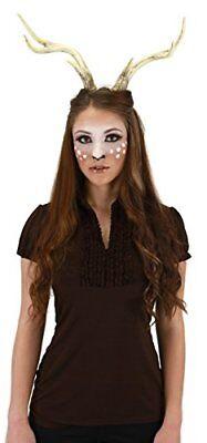 Mens Deer Costume (Deer Costume Antlers for Adults, Women and men by)